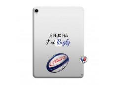 Coque iPad PRO 2018 12.9 Pouces Je Peux Pas J Ai Rugby