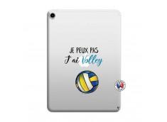 Coque iPad PRO 2018 12.9 Pouces Je Peux Pas J Ai Volley