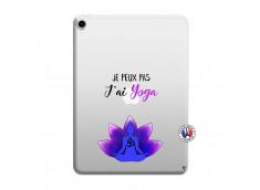 Coque iPad PRO 2018 12.9 Pouces Je Peux Pas J Ai Yoga