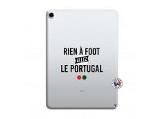 Coque iPad PRO 2018 12.9 Pouces Rien A Foot Allez Le Portugal