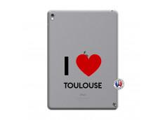 Coque iPad PRO 9.7 Pouces I Love Toulouse