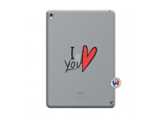 Coque iPad PRO 9.7 Pouces I Love You