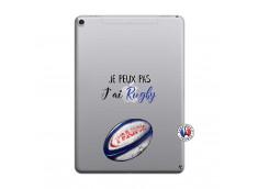 Coque iPad PRO 9.7 Je Peux Pas J Ai Rugby