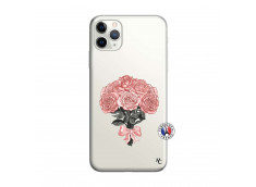 Coque iPhone 11 PRO MAX Bouquet de Roses