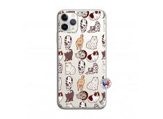 Coque iPhone 11 PRO MAX Cat Pattern