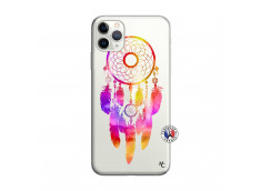 Coque iPhone 11 PRO MAX Dreamcatcher Rainbow Feathers