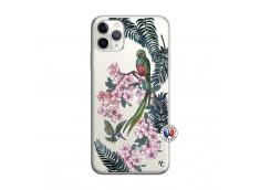 Coque iPhone 11 PRO MAX Flower Birds