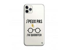 Coque iPhone 11 PRO MAX J Peux Pas J Ai Quidditch