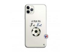 Coque iPhone 11 PRO MAX Je Peux Pas J Ai Foot