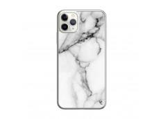 Coque iPhone 11 PRO MAX White Marble Translu