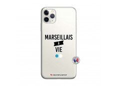 Coque iPhone 11 PRO MAX Marseillais à Vie