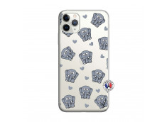 Coque iPhone 11 PRO MAX Petits Elephants