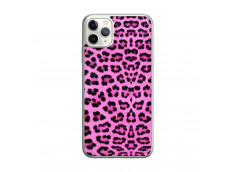 Coque iPhone 11 PRO MAX Pink Leopard Translu