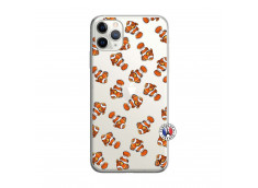 Coque iPhone 11 PRO MAX Petits Poissons Clown