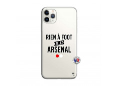 Coque iPhone 11 PRO MAX Rien A Foot Allez Arsenal