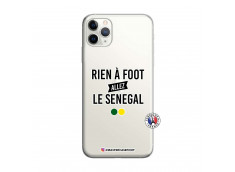 Coque iPhone 11 PRO MAX Rien A Foot Allez Le Senegal