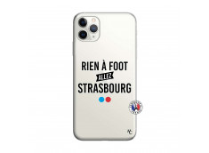 Coque iPhone 11 PRO MAX Rien A Foot Allez Strabourg