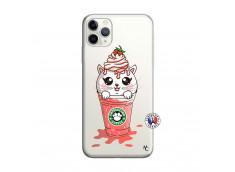 Coque iPhone 11 PRO MAX Smoothie Cat Ice Cream