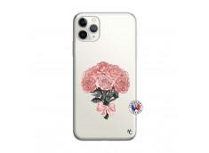 Coque iPhone 11 PRO Bouquet de Roses