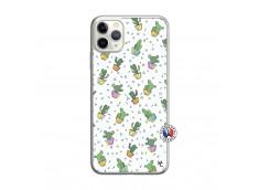 Coque iPhone 11 PRO Le Monde Entier est un Cactus Translu