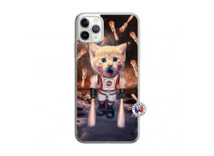 Coque iPhone 11 PRO Cat Nasa Translu