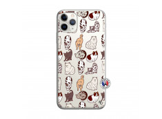 Coque iPhone 11 PRO Cat Pattern
