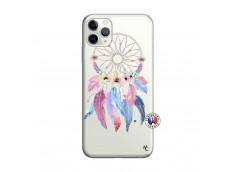 Coque iPhone 11 PRO Multicolor Watercolor Floral Dreamcatcher