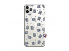 Coque iPhone 11 PRO Petits Hippos