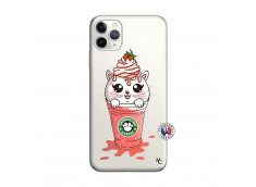 Coque iPhone 11 PRO Smoothie Cat Ice Cream