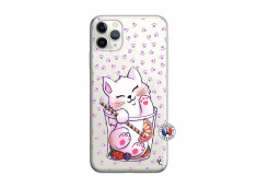 Coque iPhone 11 PRO Smoothie Cat