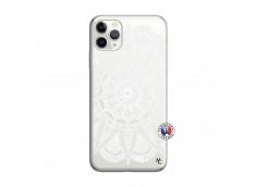 Coque iPhone 11 PRO White Mandala