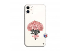 Coque iPhone 11 Bouquet de Roses