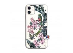 Coque iPhone 11 Flower Birds