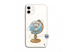 Coque iPhone 11 Globe Trotter