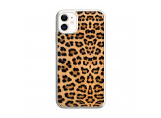 Coque iPhone 11 Leopard Style Translu