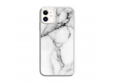 Coque iPhone 11 White Marble Translu