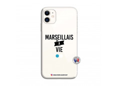 Coque iPhone 11 Marseillais à Vie