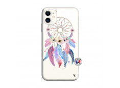 Coque iPhone 11 Multicolor Watercolor Floral Dreamcatcher