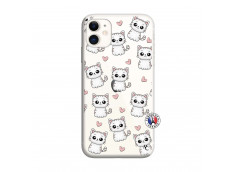 Coque iPhone 11 Petits Chats