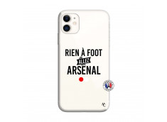 Coque iPhone 11 Rien A Foot Allez Arsenal
