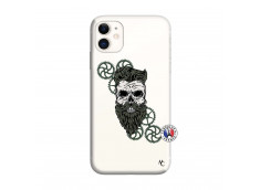 Coque iPhone 11 Skull Hipster