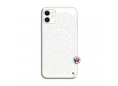 Coque iPhone 11 White Mandala