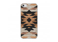 Coque iPhone 5/5S/SE Aztec Translu