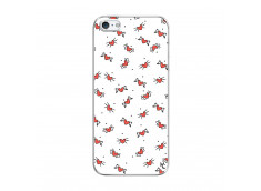 Coque iPhone 5/5S/SE Cartoon Heart Translu