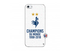 Coque iPhone 5/5S/SE Champion Du Monde Translu