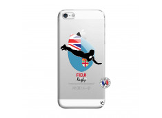 Coque iPhone 5/5S/SE Coupe du Monde Rugby Fidji