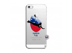 Coque iPhone 5/5S/SE Coupe du Monde Rugby-Samoa