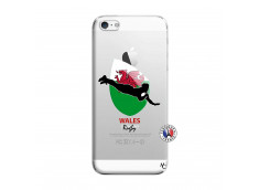 Coque iPhone 5/5S/SE Coupe du Monde Rugby-Walles