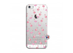 Coque iPhone 5/5S/SE Flamingo