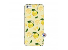 Coque iPhone 5/5S/SE Sorbet Citron Translu